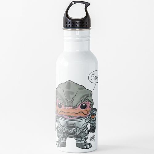 Grunt - Mass Effect Wasserflasche