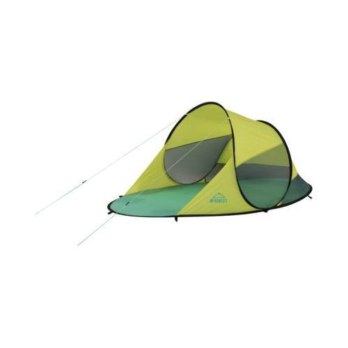 Pop-Up Strandmuschel Bora, mint-gelb grün