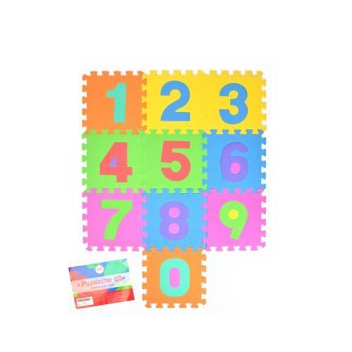 Puzzlematte mit Zahlen Puzzlestar 123 bunt