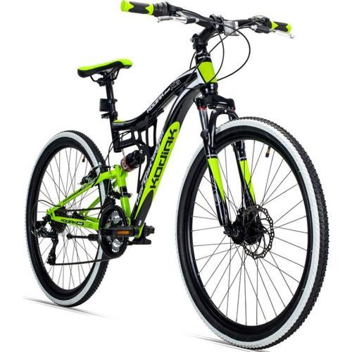 Jugendfahrrad Mountainbike Kodiak 26 Zoll, grün