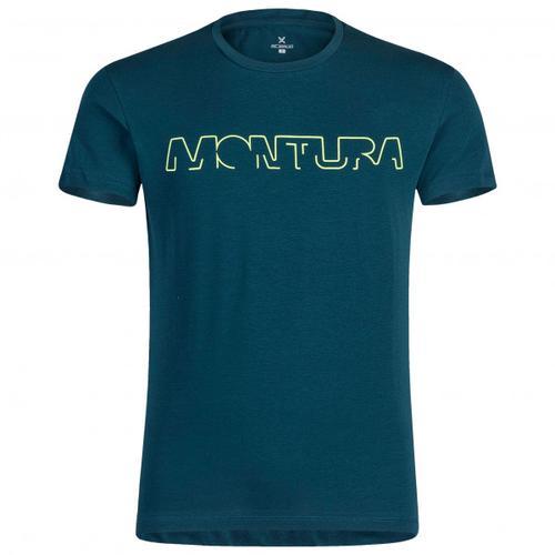 Montura - Brand - T-Shirt Gr L blau
