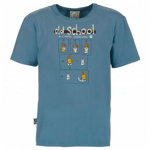 E9 - Old School - T-Shirt Gr M blau