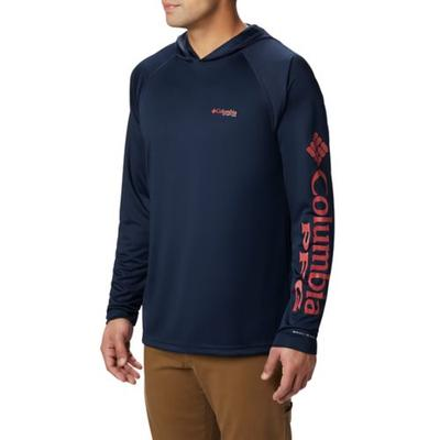 Columbia Coll Navy/Sunset Re PFG Terminal Tackle Hoodie