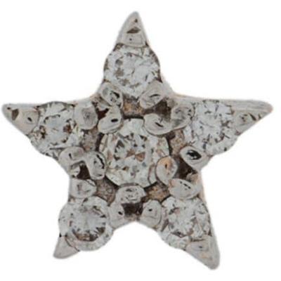 Kismet by Milka Puce d'oreille étoile à détails de diamants