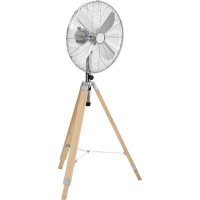 Tristar Standventilator VE-5805, schwenkbar und höhenverstellbar, 60 Watt silberfarben Klimageräte, Ventilatoren Wetterstationen SOFORT LIEFERBARE Haushaltsgeräte