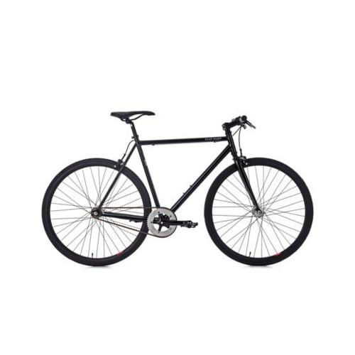 28 Fahrrad Fixie Singlespeed Flip Flop schwarz Fitnessbikes, Rahmenhöhe: 56 cm
