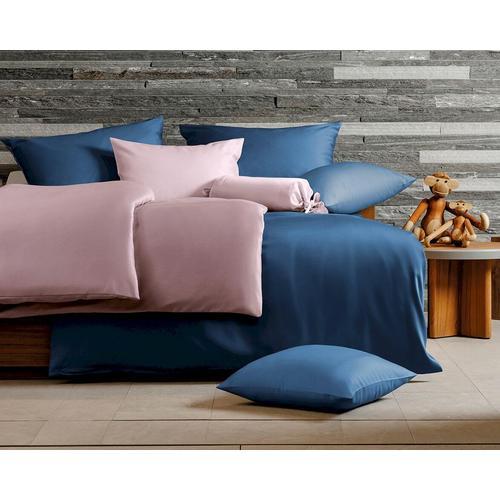 Hefel Luxus Tencel Bettwäsche Classic Uni weiß / Bettwäsche /