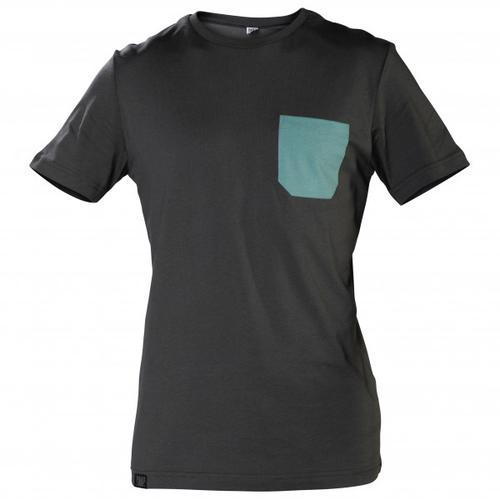 Snap - Monochrome Pocket - T-Shirt Gr S schwarz