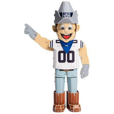 """Forever Collectibles Dallas Cowboys 12"""" Mascot Puzzle - Assorted"""