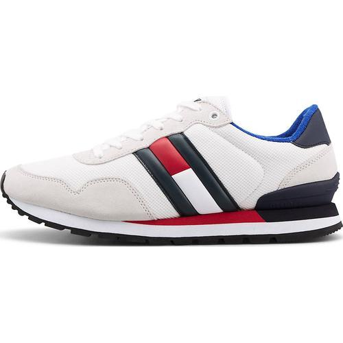 Tommy Jeans, Sneaker Casual Tj in weiß, Sneaker für Herren Gr. 45