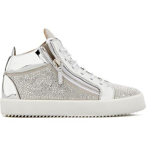Giuseppe Zanotti 'Justy' Sneakers mit Kristallnieten