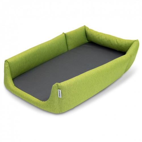 Croozer - Hundebett schwarz/grün