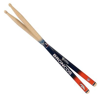 Denver Broncos Woodrow Guitar Drum Sticks