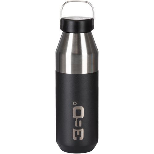 360° degrees 360° Vacuum Narrow Mouth 750 ML Isolierflasche in black, Größe Einheitsgröße