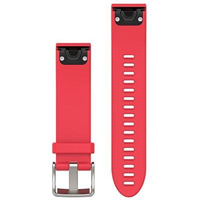 Garmin 010-12491-14 Fenix 5S Quick fit 20 Watch Band - Azalea Pink Silicone