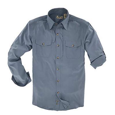 Backpacker Men's Expedition Travel Shirt Twilight Size Medium