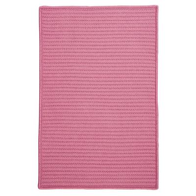 Simple Home Solid Rug by Colonial Mills in Pink (Size 2'W X 4'L)