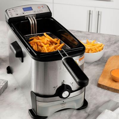 Kalorik Digital Deep Fryer by Kalorik in Silver