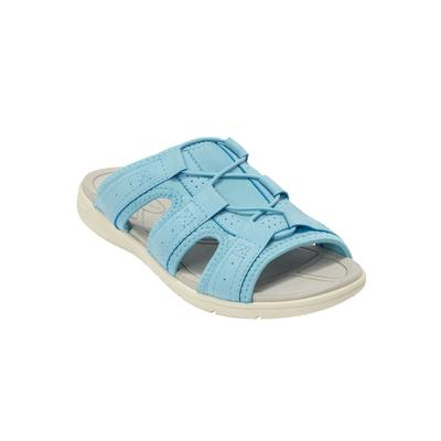 Women's The Alivia Sandal by Comfortview in Light Blue (Size 7 1/2 M)