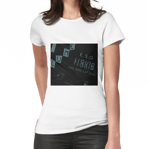Liquid Liquid Versus ESG Frauen T-Shirt