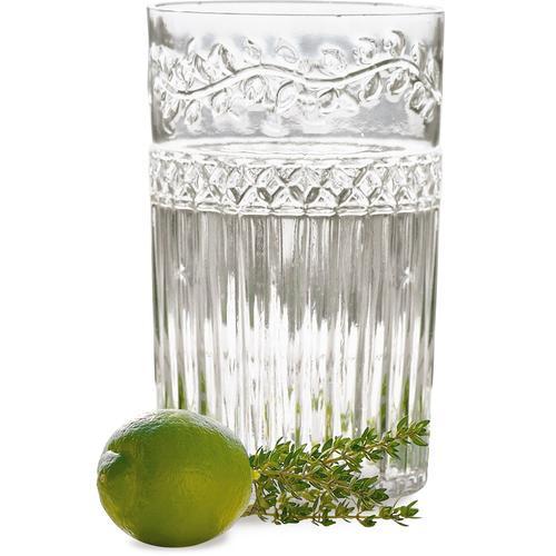 Longdrinkglas, (Set, 6 tlg.), Recycling-Glas farblos Cocktailgläser Longdrinkgläser Gläser Glaswaren Haushaltswaren Longdrinkglas