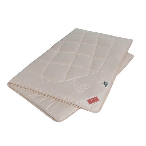 Hefel Bio-Silk Decke Sommerdecke / 200x200 cm / 860g