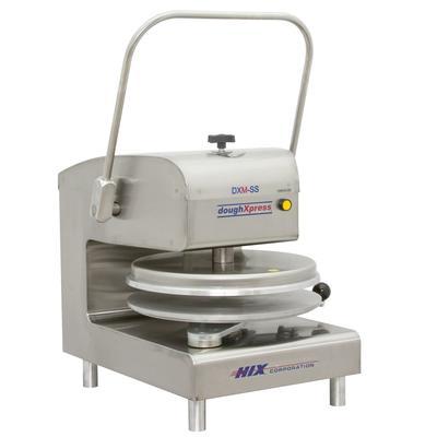 DoughXpress DXM-SS-120 Manual Pizza Dough Press w/ Digital Temp Controls, 120v