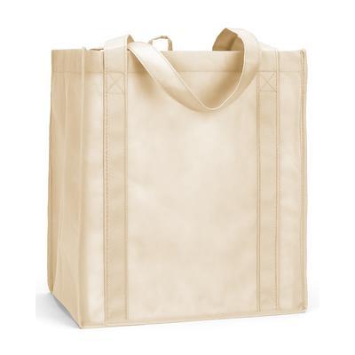 Liberty Bags LB3000 Reusable Shopping Bag in Tan | Polyesterpropylene R3000D, R3000