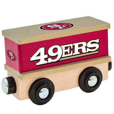 San Francisco 49ers 6.5'' x 5.5'' Box Car Train