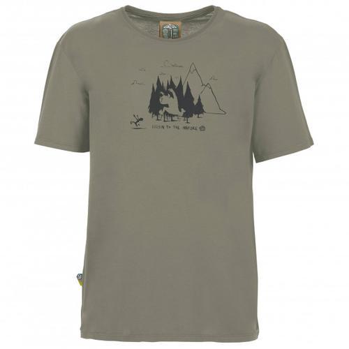 E9 - Living Forest - T-Shirt Gr M grau