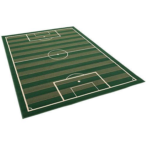 Trendline Teppich Fussballplatz Spielteppiche grün