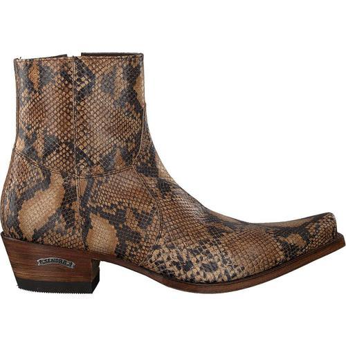 Sendra Braune Cowboystiefel 5200