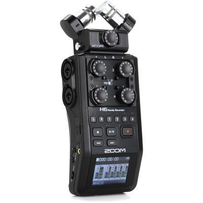 Zoom H6 All Black Handy Recorder