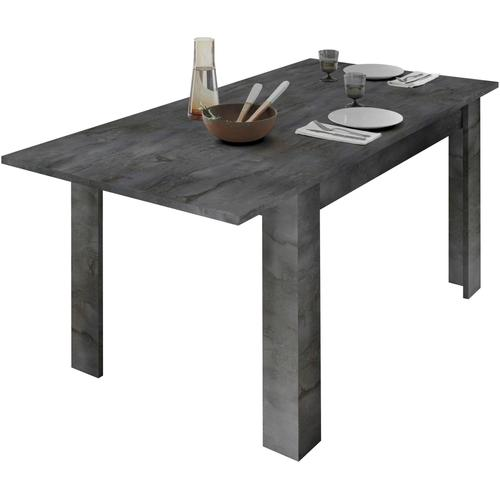 LC Ansteckplatte Dama, Ansteck-/Einlegeplatte schwarz Zubehör für Esstische Möbel
