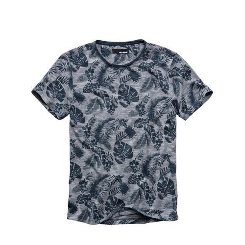 Mey & Edlich Herren Fensterblatt-Shirt leicht blau 46, 48, 50, 52, 54, 56, 58