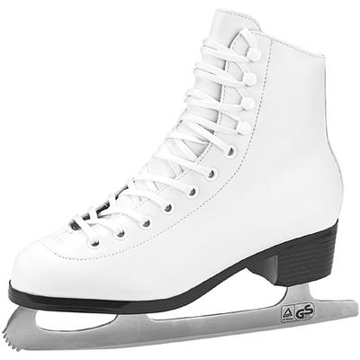 Tricot Lined Womens Figure Skates by American White