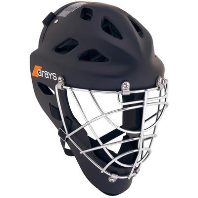 Grays G600 International Field Hockey Goalie Helmet Black