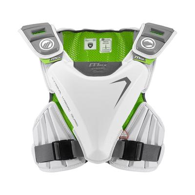 Maverik Max EKG Speed Men's Lacrosse Shoulder Pad White