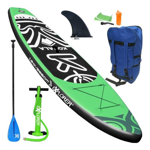 SUP Explorer KOHALA 366 Board Stand Up Paddle Surf aufblasbar Paddel ISUP Aqua