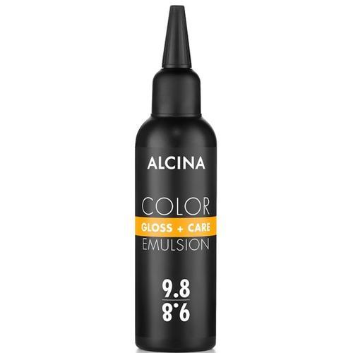 Alcina Color Gloss+Care Emulsion Haarfarbe 10.07 H.L.Blond-Past.-Brau Haarfarbe 100 ml