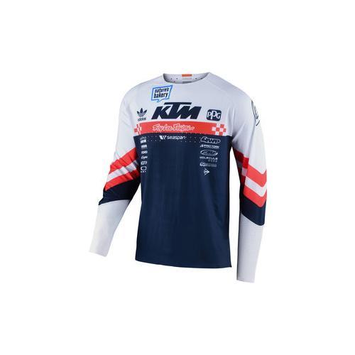TLD Factory Team Jersey Shirt weiß XL