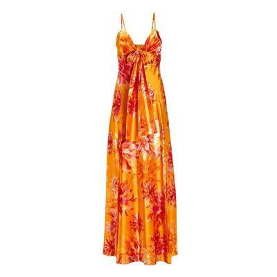 Boston Proper - Exploded Flower Charm Maxi Dress - Multi - 0