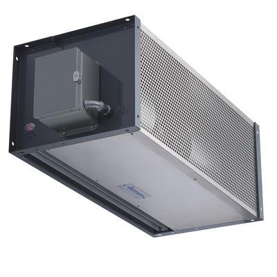 "Berner IDC12-3144A-1 144"" Unheated Air Curtain - (1) Speed, Aluminum, 120v"