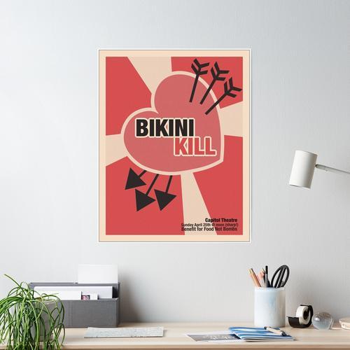 Bikini töten Poster