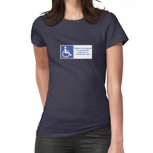 Rollstuhlfahrer Frauen T-Shirt