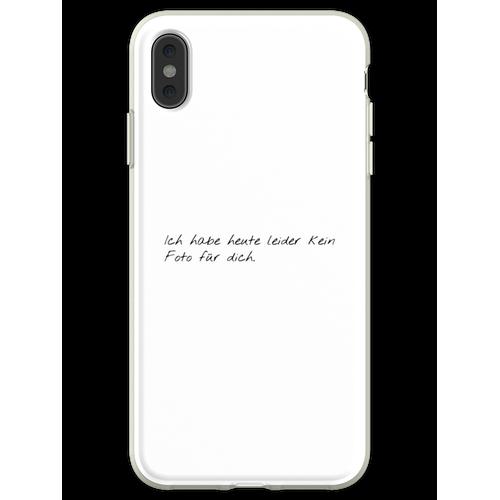 Kein Foto - GNTM Flexible Hülle für iPhone XS Max