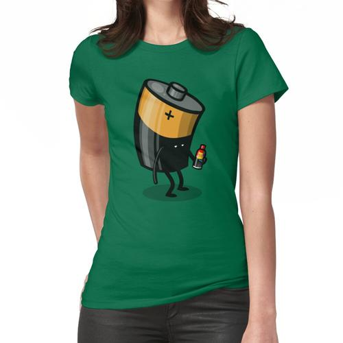 Abgelaufene Batterie Frauen T-Shirt