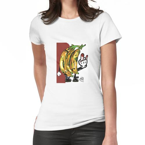 punkige Kochbananen Frauen T-Shirt
