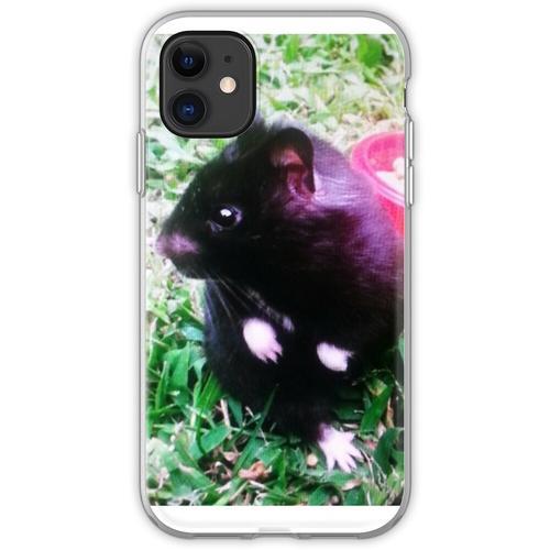 Chomik der Schwarzbär Hamster Flexible Hülle für iPhone 11