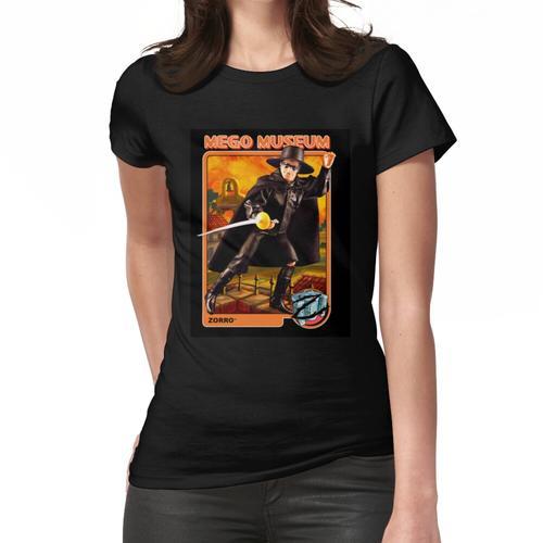 Mego Palitoy Zorro Actionfigur Megomuseum Frauen T-Shirt